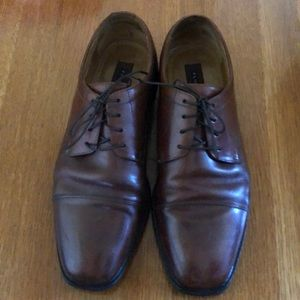 Florsheim Men's Lace-Up Oxford Brown Leather 11